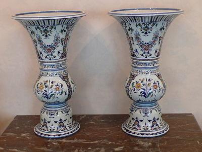 Vases en gien